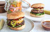 Hoe maak je grote hamburgers thuis