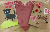 Papier Circuit Valentines Day Card