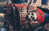 3D Print een vuist van de macht gelede Warhammer 40k