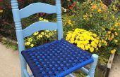 Weven stoel stoelen met Paracord