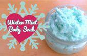DIY Winter Mint Body Scrub
