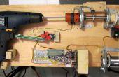 Controle van de Hand boren met Roboduino / Arduino aan Spool soldeer