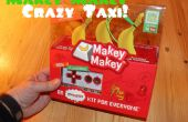 Aangepaste Crazy Taxi Video Game Controller met de Makey Makey