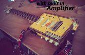 Elektrische gitaar Cigar-Box w / Built in versterker