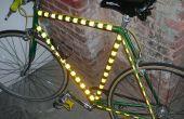 Lichte fiets DIY Kit installatie