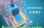 GRBL-mini laser gravure machine