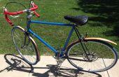 Houten fiets Fender
