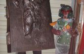 Han Solo in Carbonite kostuum