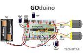 GOduino - de Arduino Uno + Motor Driver kloon