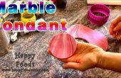 Hoe marmeren van Fondant met voedsel kleuren Sugarcraft Tutorial