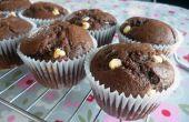 Snelle & gemakkelijk dubbele chocolade Muffins