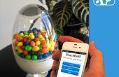 SnackBot: Het Internet aangesloten snoep Machine!