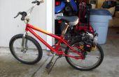 Onkruid Eater motor Bike (wrijving station)