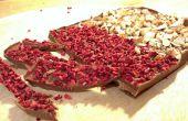 Maak uw eigen heerlijke plaat van chocolade