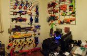Nerf Gun/Airsoft muur Display