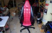 Zet een Racing Seat in een stoel van het Bureau