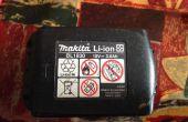 Makita 18v LXT Lithium-ion batterij reparatie
