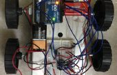 Externe gecontroleerde robot met Arduino en T.V. afstandsbediening