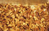 Gemakkelijk roomkaas-Pecan Fudge
