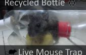 Gerecycled fles levende muis val