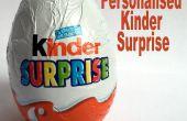 Gepersonaliseerd Kinder Surprise cadeau