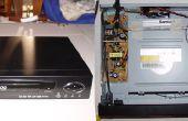 Zet een kapotte DVD-speler in een accessoire behuizing voor uw Home Theater PC