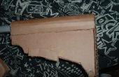 Hoe maak je een uitschuifbare M4 Carbine stock van karton