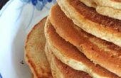 Pannenkoeken voor het koken van de verminderde