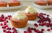Granaatappel Cake taartjes