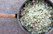 Gerst salade met kikkererwten en Feta