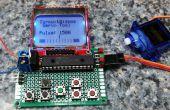Servo-Tester met grafisch LCD