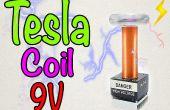 Hoe maak je een mini Tesla coil 9V