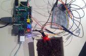 Analoge sensor input raspberry pi met behulp van een MCP3008: bedrading/installatie/basic-programma