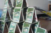 Hoe te (met behulp van technieken-ish) maken een kaartenhuis
