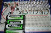 41 LED Flasher Circuit met behulp van de 555 IC