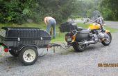 Bouwen van een sleeptouw achter een motorfiets of kleine auto Trailer
