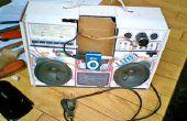 Mijn Cardboad Stereo luidspreker voor MP3-speler en mijn mobiele telefoon
