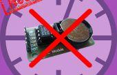 Tijdwaarneming op ESP8266 & arduino uno zonder een RTC (Real Time CLock)?