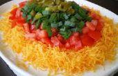 Ultra eenvoudig, één minuut, drie ingrediënt Mexicaanse Dip