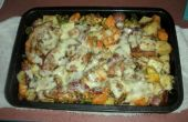 Kip Veggie braadpan met SPEK