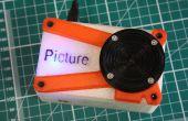Foto - de 3D afgedrukt Raspberry Pi Camera.