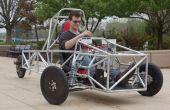 Engineering een Chassis van het voertuig 3 wiel