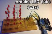 Arduino – LED Cube 3 x 3 x 3