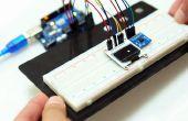 Interactie met een OLED en een versnellingsmeter