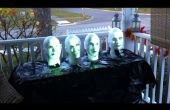 Arduino aangedreven Haunted Mansion zingen bustes