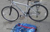 """""""Fold"""" een niet-opvouwbare fiets en vermijden luchtvaartmaatschappij kosten"""