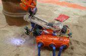 Robot krab (strand schoonmaken)