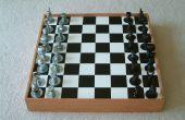 Chess Board veilig met Hardware Schaken mannen
