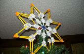 Hoe maak je een ster van Bethlehem Kerstboom Topper uit K'nex.