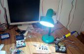 Oude lamp facelift! [DIY LED bureaulamp]